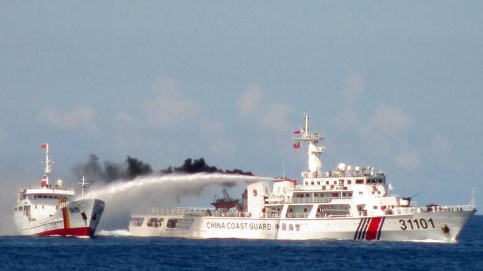 Trung Quốc trắng trợn tố ngược tàu Việt Nam đâm tàu TQ 171 lần (?!) - ảnh 1