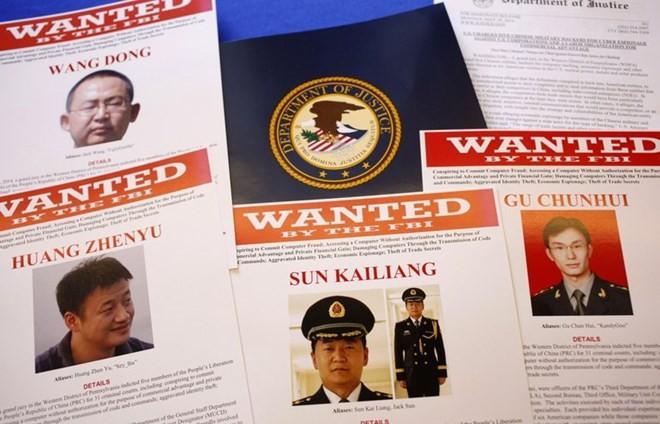 Bồi thẩm đoàn Mỹ cáo buộc 5 quan chức quân đội Trung Quốc là gián điệp mạng - ảnh 1