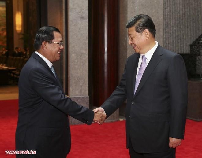 Trung Quốc tiếp tục hỗ trợ tài chính cho Campuchia - ảnh 1