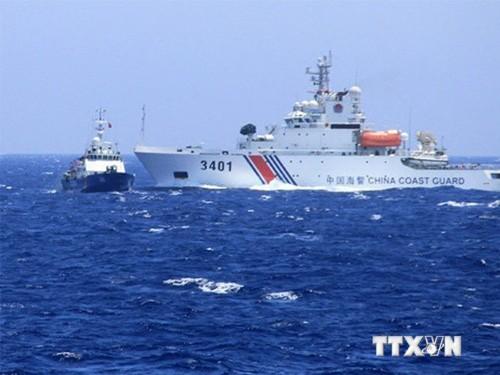 Trung Quốc phản ứng kịch liệt khi Nhật sát cánh cùng Việt Nam, Philippines tại biển Đông - ảnh 1
