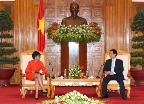 """""""Mỹ muốn tăng cường quan hệ với Việt Nam trên mọi lĩnh vực"""" - ảnh 1"""