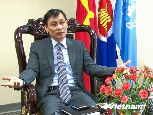 Đại sứ VN tại LHQ trả lời báo chí quốc tế về việc Trung Quốc vu cáo - ảnh 1