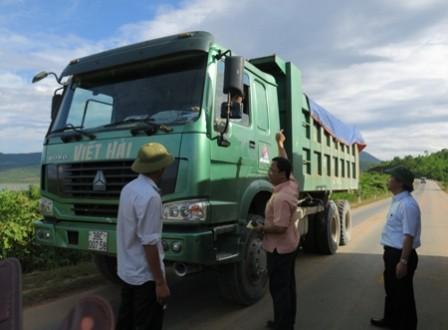 Các xe bị bắt lỗi đều tự ý cơ nới thùng xe để chở quá tải