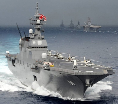 Tàu sân bay trực thăng đa năng lớp Izumo.
