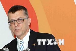 Đại sứ Australia tại Việt Nam Hugh Borrowman. (Ảnh: Quý Trung/TTXVN)