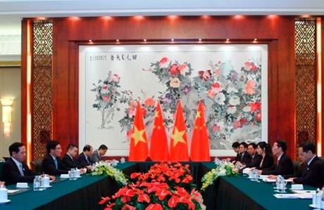 Phó Thủ tướng Phạm Bình Minh gặp Phó Thủ tướng Trung Quốc - ảnh 2