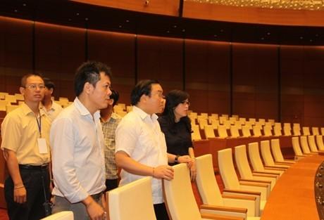 Nhà Quốc hội sẵn sàng trước giờ 'G' - ảnh 3