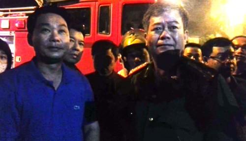Hà Nội: Cháy dữ dội ở khu đô thị Nam Trung Yên - ảnh 6