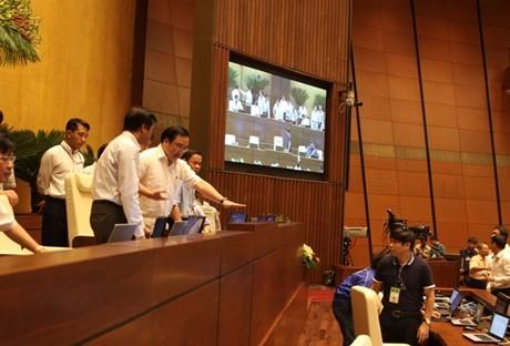 Nhà Quốc hội sẵn sàng trước giờ 'G' - ảnh 7