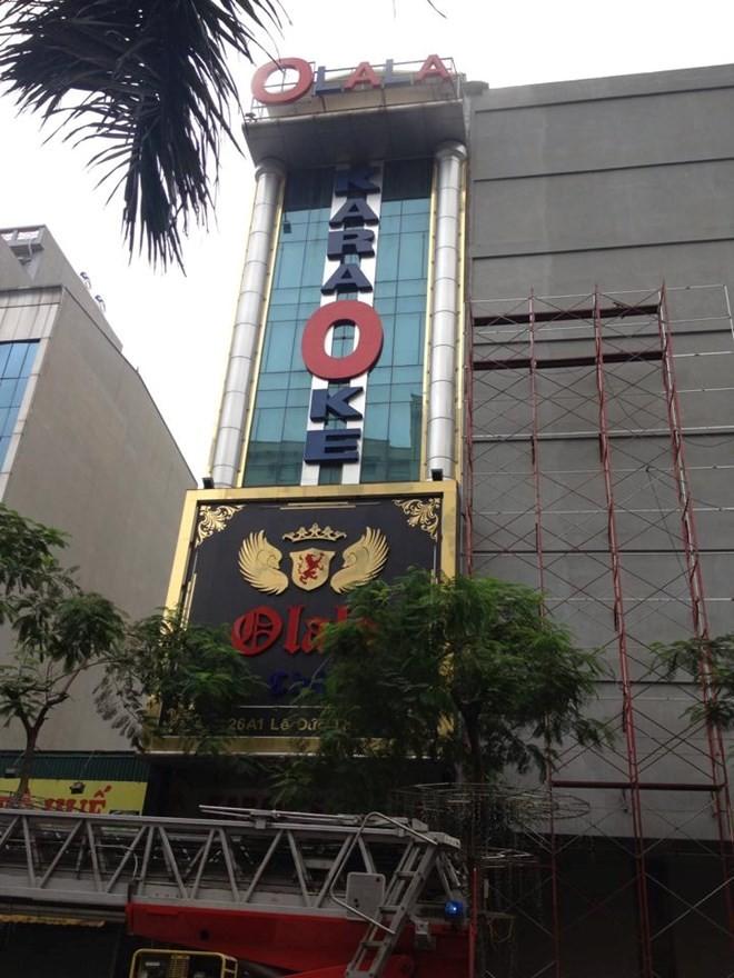 Hà Nội: Cháy lớn tại quán karaoke 7 tầng - ảnh 6