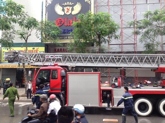Hà Nội: Cháy lớn tại quán karaoke 7 tầng - ảnh 7