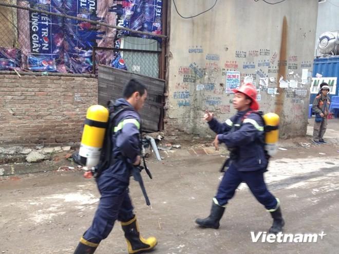 Hà Nội: Cháy lớn tại quán karaoke 7 tầng - ảnh 3