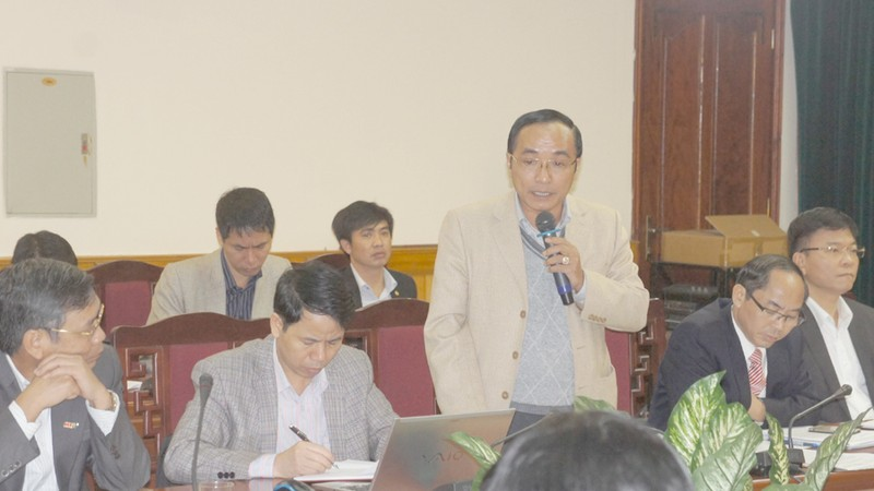Hà Tĩnh họp báo vụ phụ huynh ngăn hơn 500 học sinh đến lớp  - ảnh 2