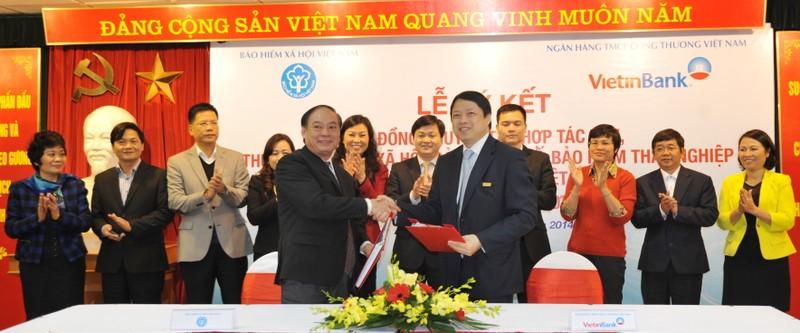 VietinBank và Bảo hiểm Xã hội Việt Nam ký kết hợp tác - ảnh 1