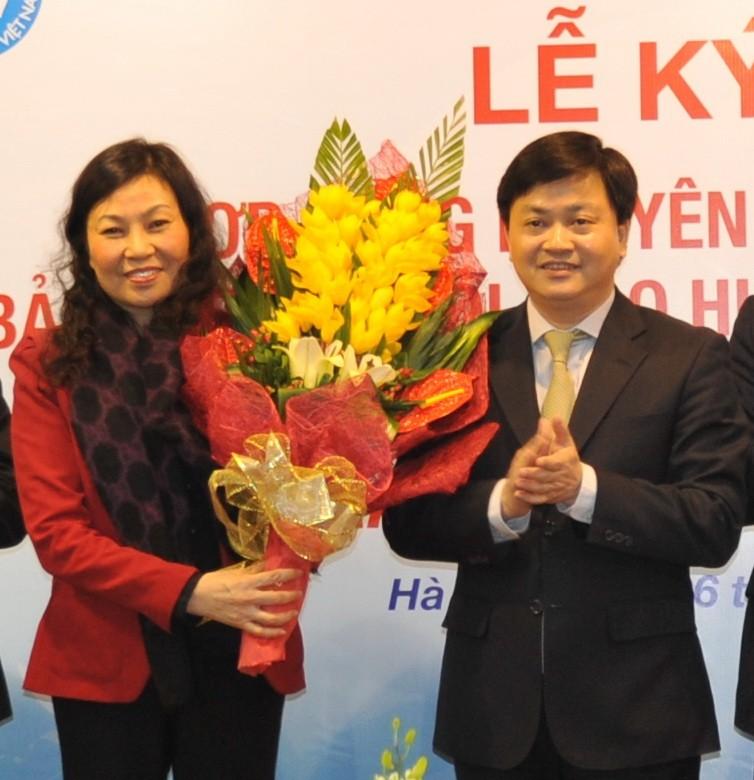 VietinBank và Bảo hiểm Xã hội Việt Nam ký kết hợp tác - ảnh 2