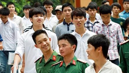 Những điểm mới trong tuyển sinh quân sự năm 2015 - ảnh 1
