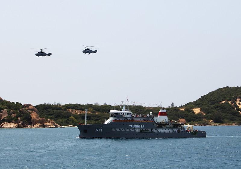 Tự hào sức mạnh Hải quân Việt Nam  - ảnh 1