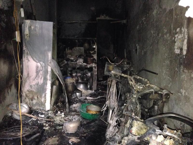 Cháy kinh hoàng ở Hà Nội, 5 người trong gia đình chết thảm khốc - ảnh 2