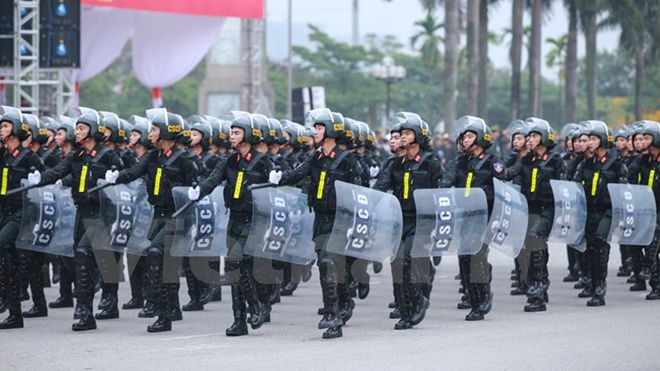 Bộ trưởng Trần Đại Quang phát lệnh xuất quân bảo vệ Đại hội Đảng - ảnh 7