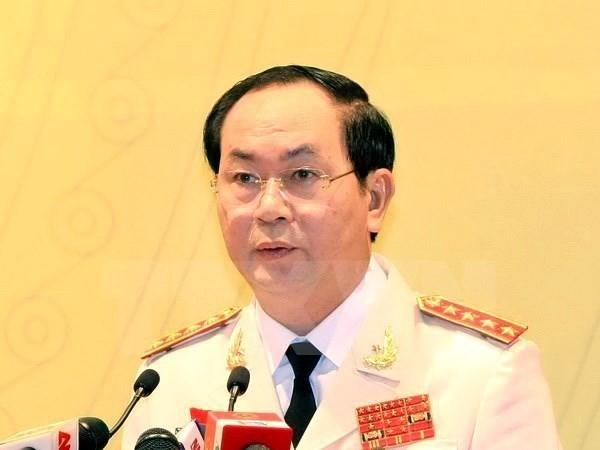 Ông Trần Đại Quang chính thức được giới thiệu ứng cử Chủ tịch nước - ảnh 1