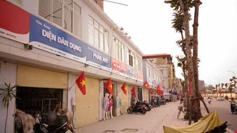 Quận Thanh Xuân nói gì về biển hiệu 'đồng phục xanh đỏ' ở phố kiểu mẫu? - ảnh 1