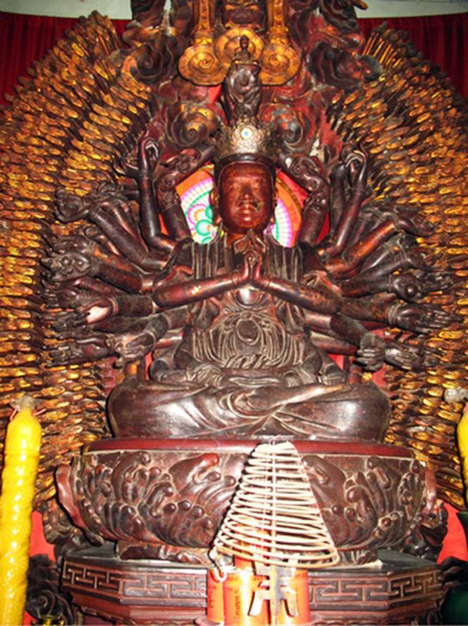 Tìm thấy tượng Phật nghìn tay, nghìn mắt bị mất trộm