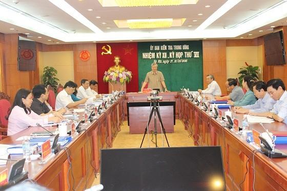 Đề nghị cảnh cáo cựu Bộ trưởng Vũ Huy Hoàng - ảnh 1