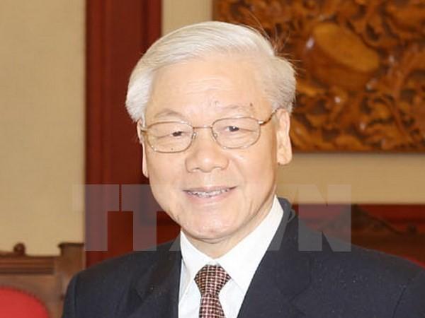 Tổng Bí thư Nguyễn Phú Trọng lên đường thăm Trung Quốc - ảnh 1