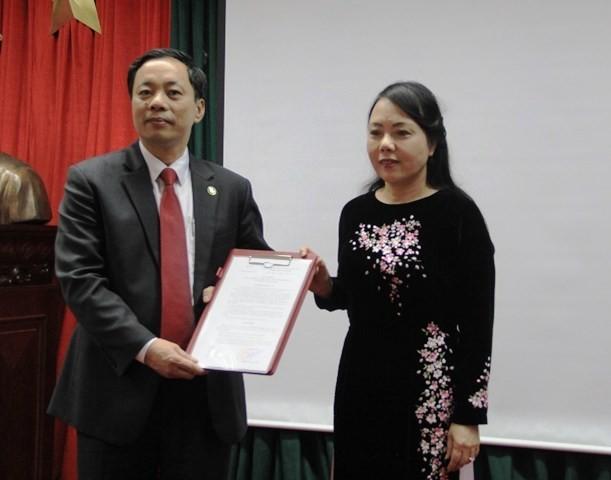 Bộ Y tế bổ nhiệm cục trưởng Cục Quản lý dược - ảnh 1