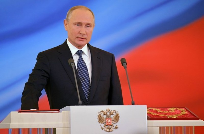 Tổng thống Putin giao lưu trực tuyến lần thứ 16 với người dân - ảnh 1