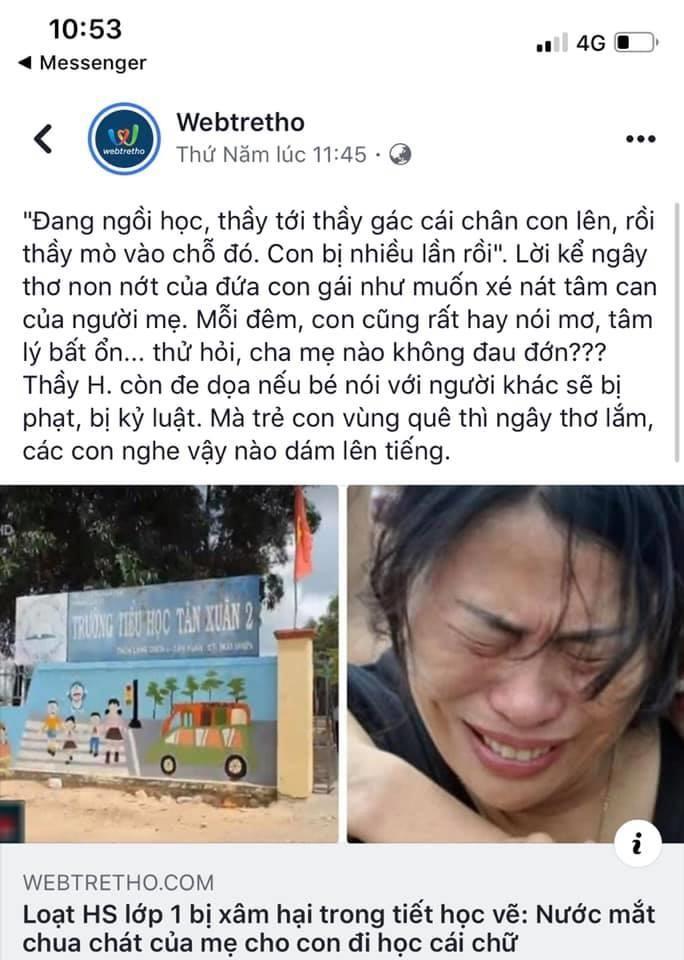 Webtretho xúc phạm gia đình liệt sĩ nhà giàn DK1 - ảnh 1