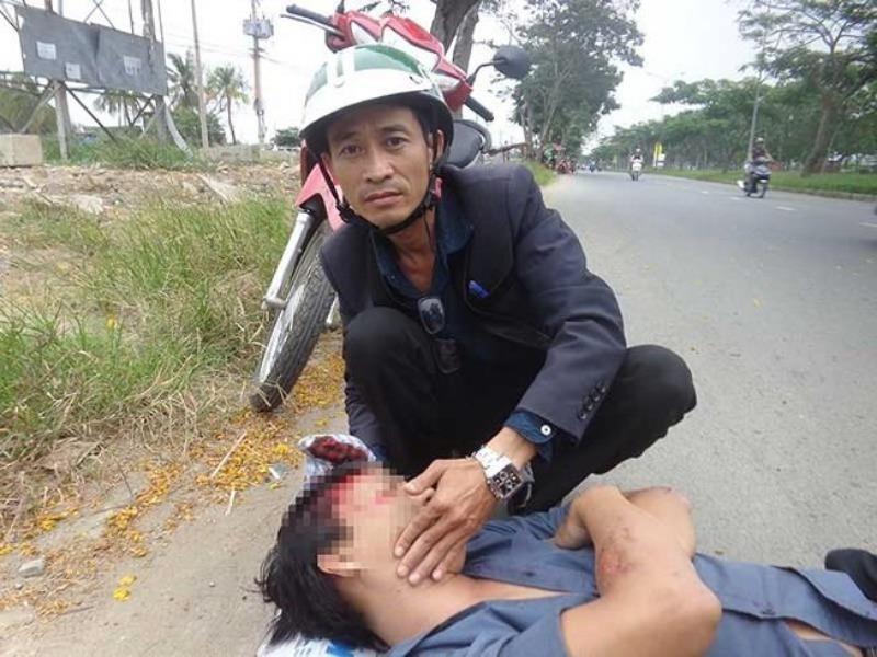 Vụ cô gái bị tai nạn không ai cứu: Tôi đau lắm! - ảnh 1