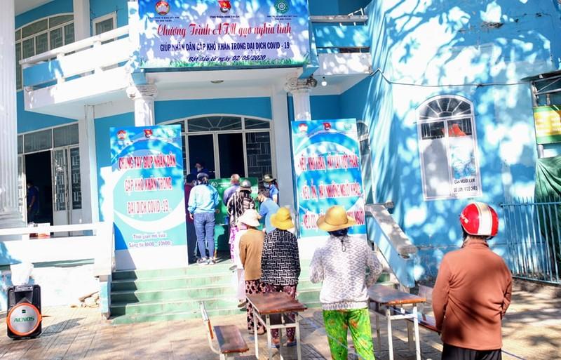 Thêm cây ATM gạo hỗ trợ người dân ở Ninh Thuận - ảnh 1