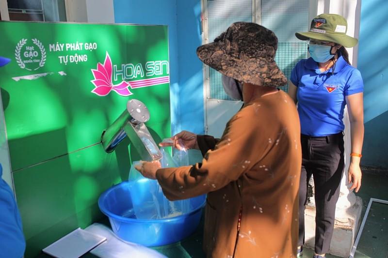Thêm cây ATM gạo hỗ trợ người dân ở Ninh Thuận - ảnh 3