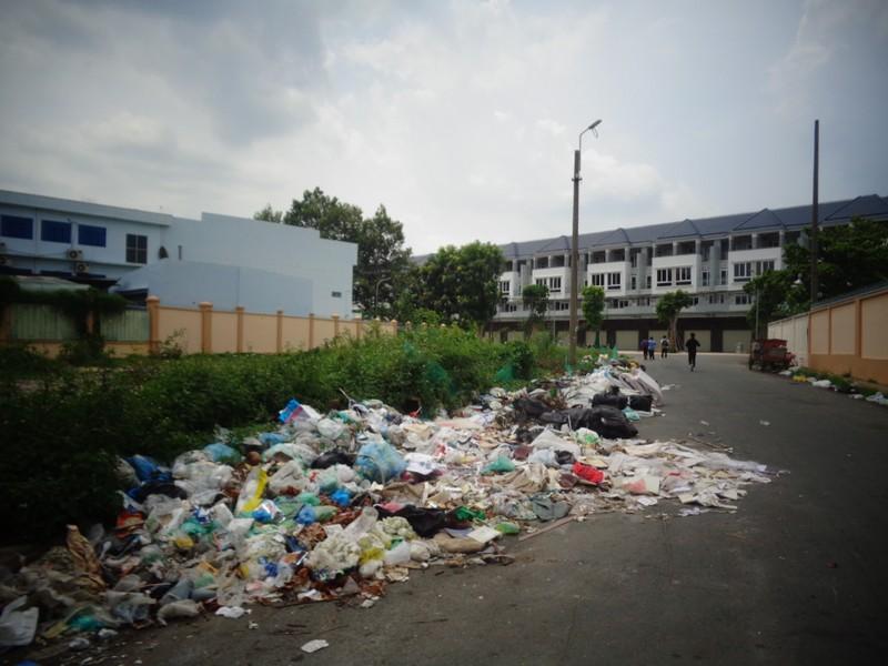 Bãi rác giữa phố quá ô nhiễm! - ảnh 2