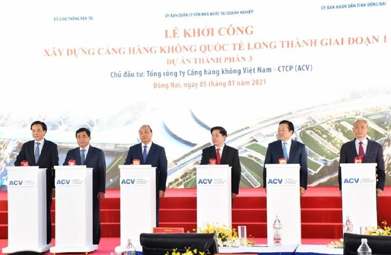 Chính thức khởi công sân bay quốc tế Long Thành - ảnh 1