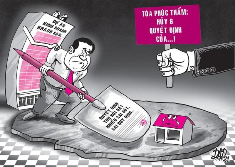 Thua kiện, chủ tịch tỉnh đề nghị giám đốc thẩm - ảnh 2