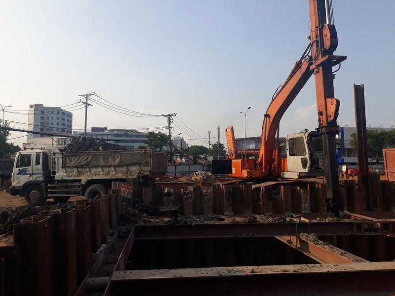 Tháng 6-2022, thông xe kỹ thuật hầm chui Nguyễn Văn Linh - Nguyễn Hữu Thọ - ảnh 1
