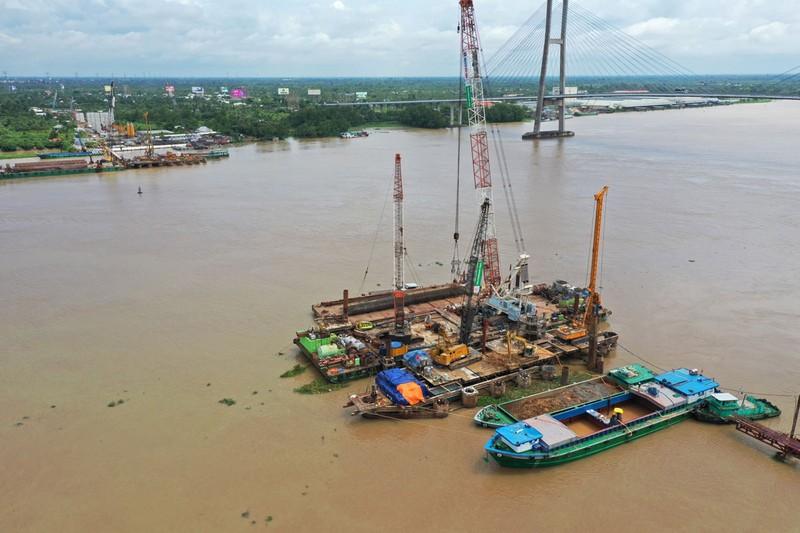 Cầu Mỹ Thuận 2  trước nguy cơ chậm giải ngân 112 tỉ đồng - ảnh 1