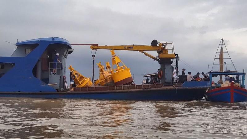 Hải Phòng yêu cầu  ngư dân rút khỏi bãi ngao chồng lấn mỏ cát - ảnh 1