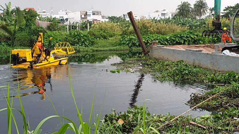 TP.HCM: Nhiều biện pháp  chặn xả thải ô nhiễm - ảnh 1