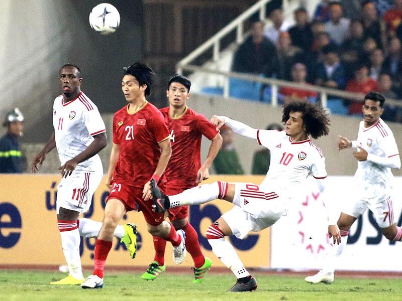 UAE thách thức ngôi đầu của tuyển Việt Nam - ảnh 1