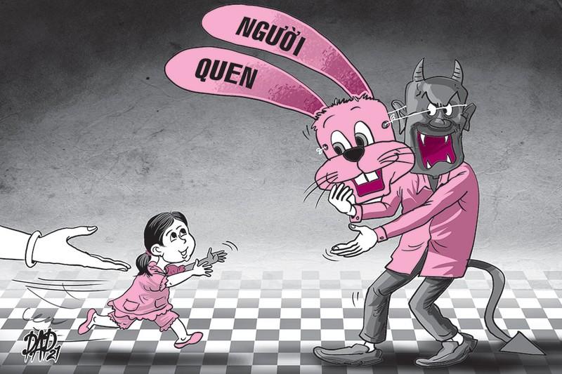 Bảo vệ trẻ em: Đừng chỉ đề phòng người lạ, bỏ qua người quen - ảnh 1