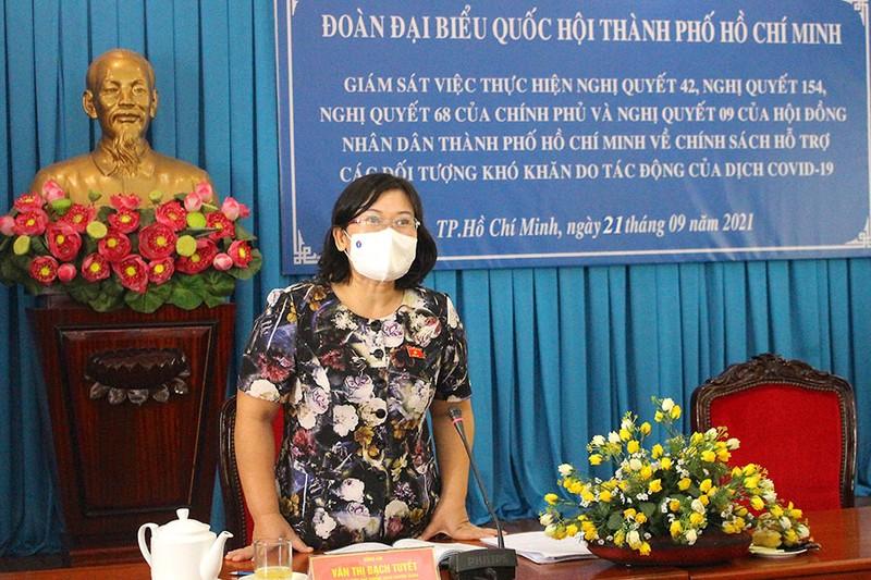 TP.HCM: Tăng tốc chi trả hỗ trợ cho người dân khó khăn - ảnh 1