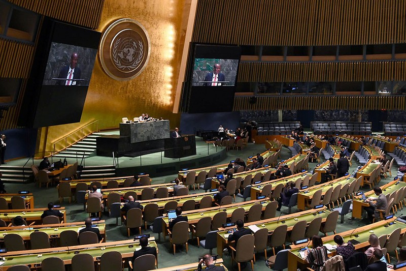 Nóng chuyện công bằng và bản quyền vaccine ở Liên Hợp Quốc - ảnh 1