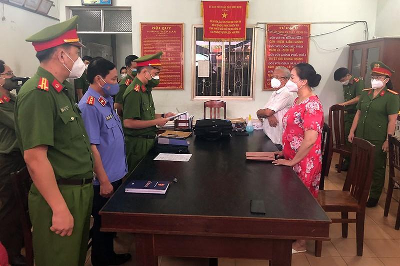 Bắt nữ chủ tịch HĐQT công ty mua sỉ 262 lô đất ở Phú Yên - ảnh 1