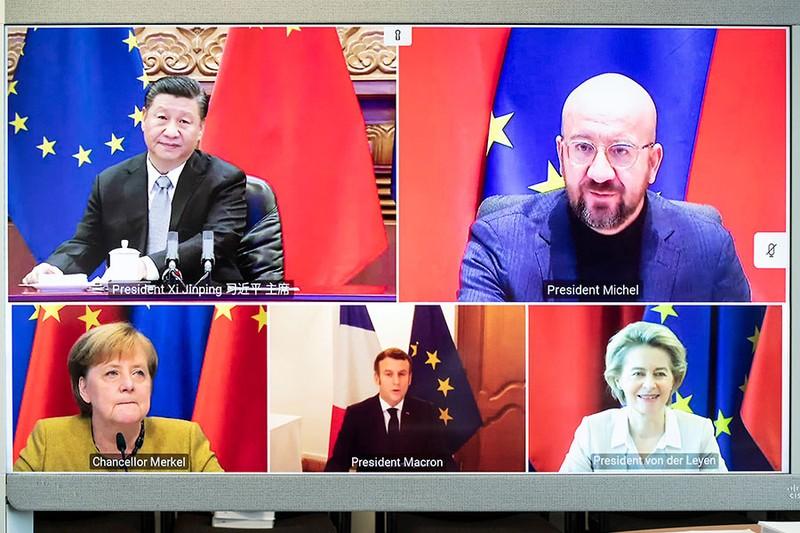 EU không còn nhiều thời gian đứng giữa Mỹ và Trung Quốc - ảnh 1