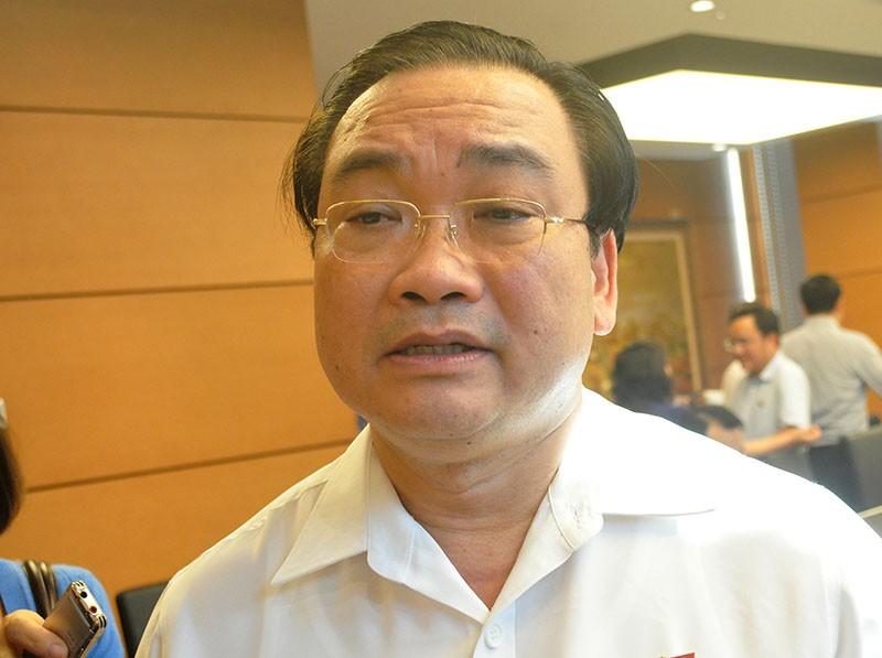 Bí thư Hoàng Trung Hải: Hà Nội đang chịu sức ép rất lớn - ảnh 1