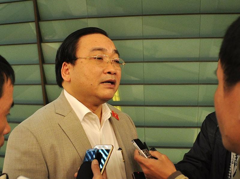 Bí thư Thành uỷ Hà Nội Hoàng Trung Hải