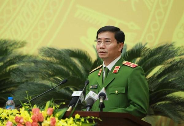 Giám đốc Sở Cảnh sát PCCC Hà Nội Hoàng Quốc Định